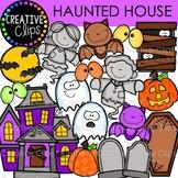 Haunted House {Creative Clips Digital Clipart}