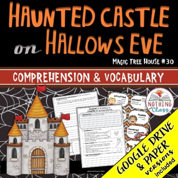 Haunted Castle on Hallows Eve: Comprehension and Vocabulary by chapter