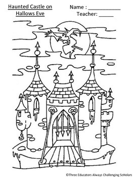 Magic Tree House: Haunted Castle on Hallows Eve Comprehension Pack