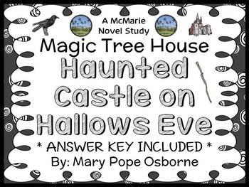 Haunted Castle on Hallows Eve : Magic Tree House #30 Novel Study / Comprehension