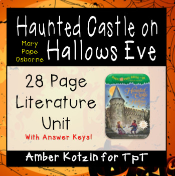 Haunted Castle on Hallows Eve (Magic Tree House) Literature Guide