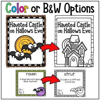 Haunted Castle on Hallows Eve Magic Tree House Comprehension Unit