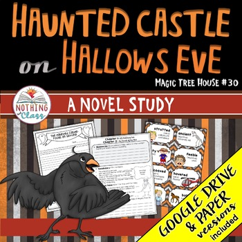 Haunted Castle on Hallows Eve Novel Study Unit