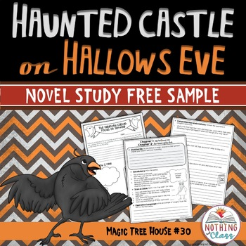 Haunted Castle on Hallows Eve Novel Study Unit: FREE Sample