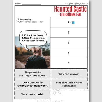 Haunted Castle on Hallows Eve, an English Novel Study for Spanish Speakers