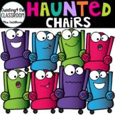 Haunted Chairs {Halloween Clip Art}