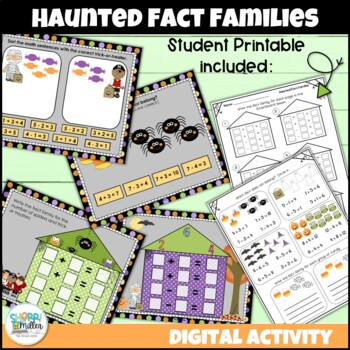 Haunted Fact Families (Smartboard Lesson)