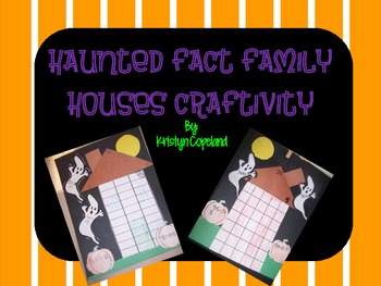 Fact Families: Haunted Fact Family Houses