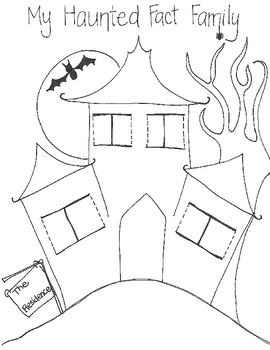 Haunted Fact Family (addition and subtraction; multiplication and division)