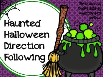 Haunted Halloween Direction Following