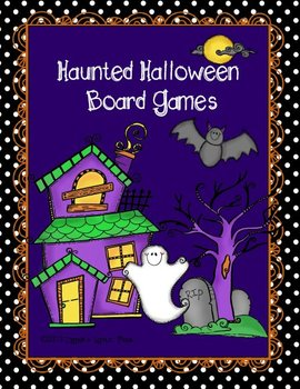 Haunted Halloween {Game Boards}