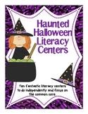 Haunted Halloween Literacy Stations