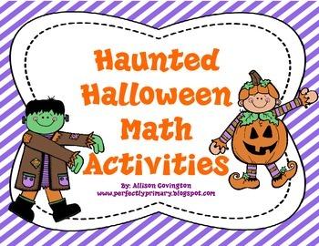 Haunted Halloween Math Activities