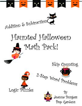 Haunted Halloween Math Pack