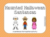 Haunted Halloween Sentences for Sentence Formulation
