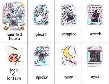 Haunted Halloween Story Starter 1-2
