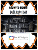 Haunted House 7th Grade Math Digital Escape Room with Book