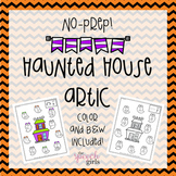 Haunted House Artic {No-Prep}