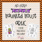 Haunted House Artic {No-Prep}