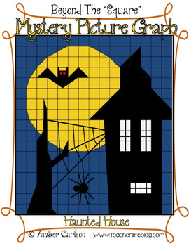 Haunted House {Beyond The Square-Mystery Picture Graph}