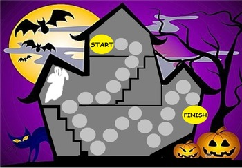 Haunted House Board Game