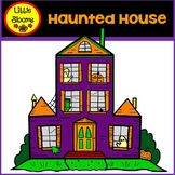 Haunted House Clip Art (FREEBIE!)