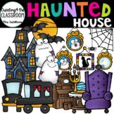 Haunted House Clip Art {Halloween Clip Art