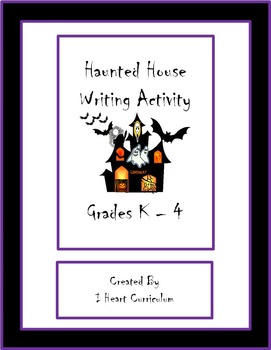 Haunted House Craft and Write