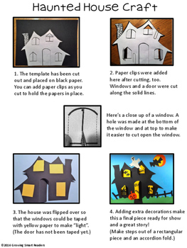 Haunted House Writing and Craft
