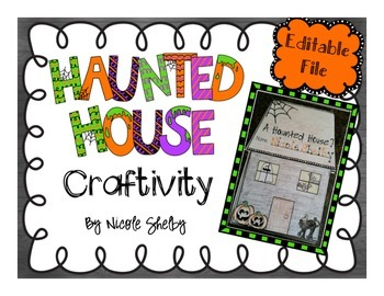 Haunted House Craft (Editable)