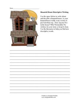 Haunted House Descriptive Writing