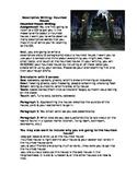 descriptive essay on a haunted house