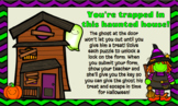 Haunted House Digital Breakout