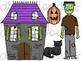 Haunted House Digital Clip Art Set