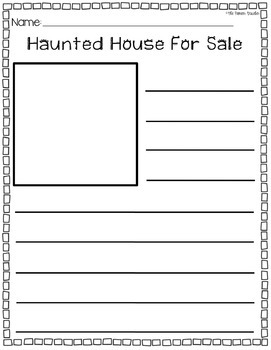 Haunted House For Sale Writing Prompt