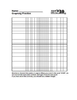 Haunted House Graphing Worksheet