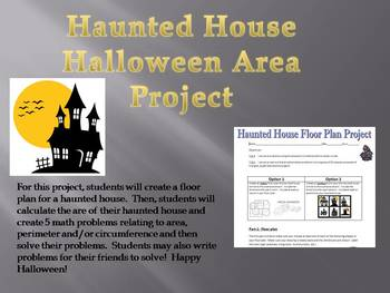 Haunted House Halloween Area Project