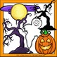Haunted House Halloween Clip Art Set - Chirp Graphics