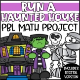 Haunted House Halloween Project Based Learning Math Project (PBL)