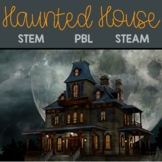 Haunted House Halloween STEM/STEAM/PBL Activity Package