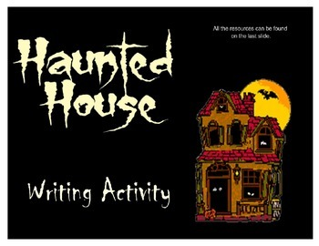 Haunted House Halloween Writing SMART Lesson