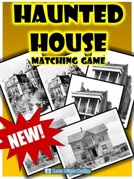 Haunted House Matching Game