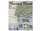 Haunted House Art Activity-Build a Miniature Haunted House Replica