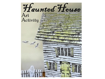 Haunted House Art Activity-Build a Miniature Haunted House