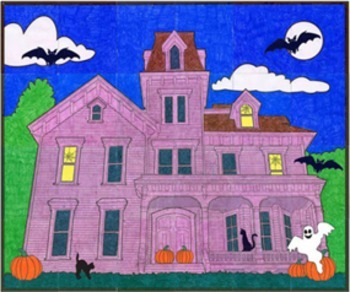Haunted House Mural