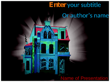 Haunted House PPT Template