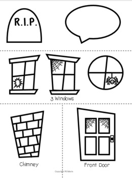 Haunted House Paper Bag Craft