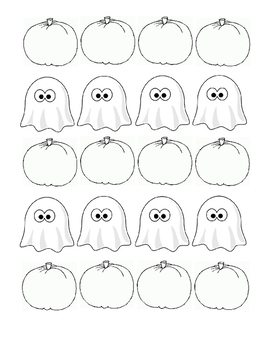 Haunted House Pattern Classroom Book