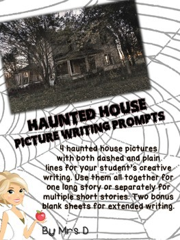 Haunted House Picture Writing Prompts