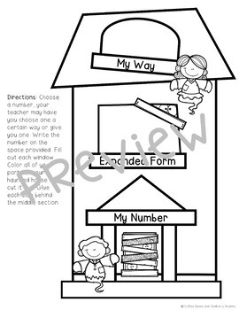 Haunted House Place Value Activity